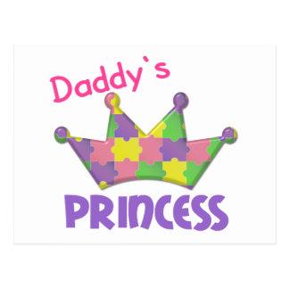 Princesa autística 3 AUTISMO Postal