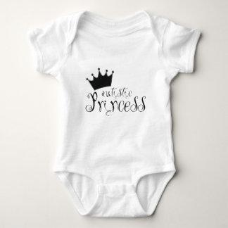 Princesa autística body para bebé