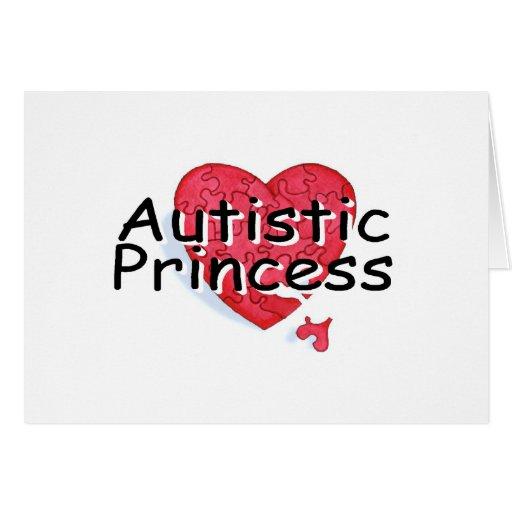 Princesa autística felicitaciones