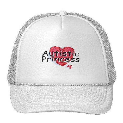 Princesa autística gorras