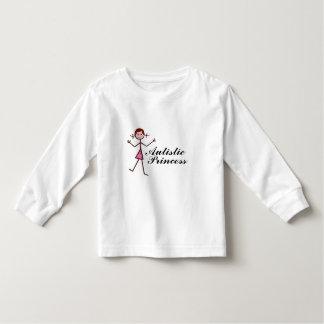 Princesa autística camisetas