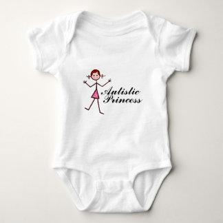 Princesa autística camiseta