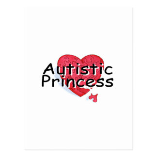 Princesa autística postales