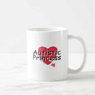 Princesa autística taza de café