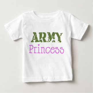Princesa Baby del ejército Polera