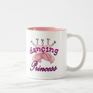 Princesa Ballet Design del baile Taza De Dos Tonos