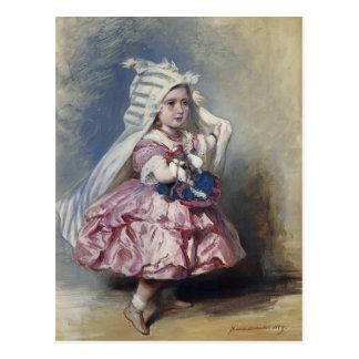 Princesa Beatriz de Francisco Xaver Winterhalter- Postal