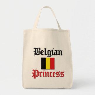 Princesa belga bolsa tela para la compra