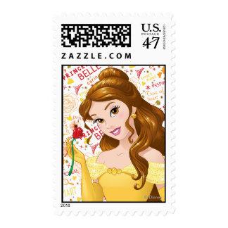 Princesa Belle Sello Postal