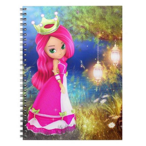 Princesa Berry Notebook Libros De Apuntes Con Espiral