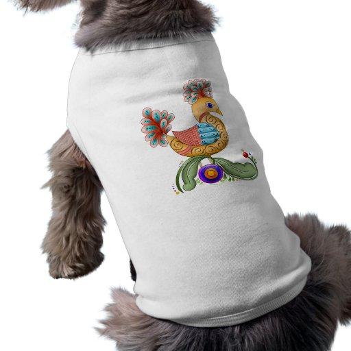 Princesa Birdie Pet Clothing Camisetas De Perro