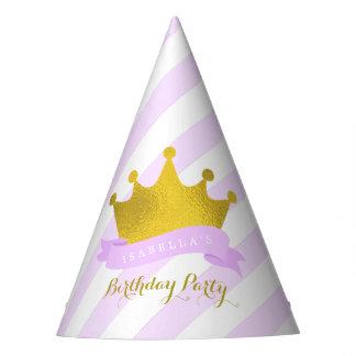 Princesa Birthday de la tiara de la lavanda y del Gorro De Fiesta