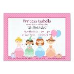 Princesa Birthday Invitación