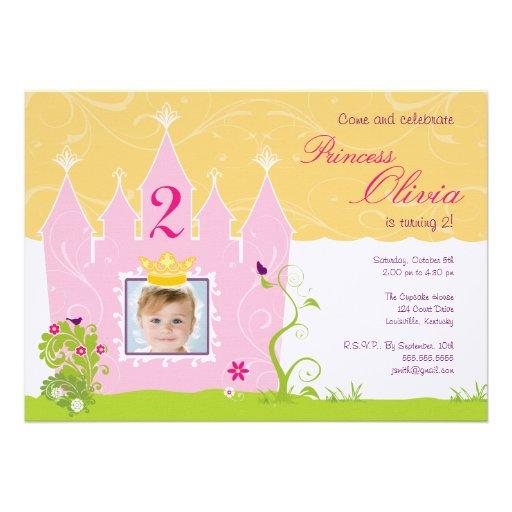 Princesa Birthday Invitation Comunicados