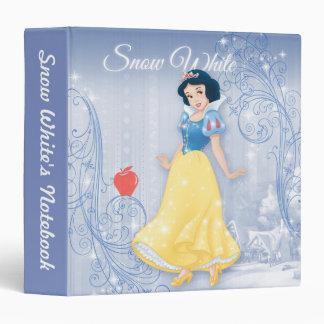 """Princesa blanca como la nieve carpeta 1 1/2"""""""