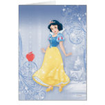 Princesa blanca como la nieve felicitaciones