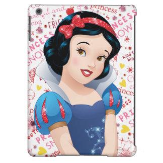 Princesa blanca como la nieve funda para iPad air
