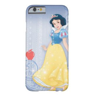 Princesa blanca como la nieve funda para iPhone 6 barely there