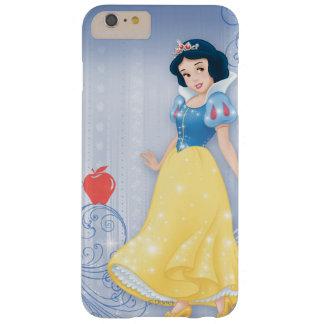 Princesa blanca como la nieve funda para iPhone 6 plus barely there