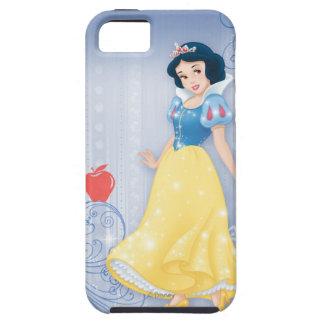 Princesa blanca como la nieve iPhone 5 carcasas