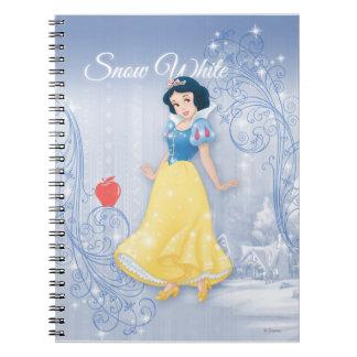 Princesa blanca como la nieve libreta espiral