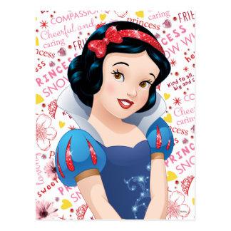 Princesa blanca como la nieve postal