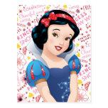 Princesa blanca como la nieve postales
