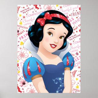 Princesa blanca como la nieve póster