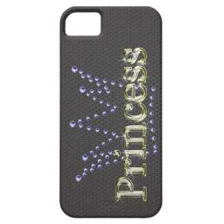 """Princesa"""" Bling Iphone 5"""" del diamante """"Barely Funda Para iPhone 5 Barely There"""