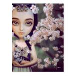 Princesa Blossom Postcard Tarjeta Postal