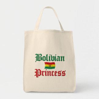 Princesa boliviana bolsa tela para la compra