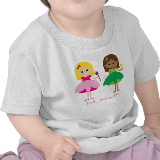 Princesa bonita BFF (mejores amigos para siempre) Camiseta