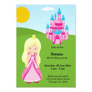 """Princesa bonita invitación 5"""" x 7"""""""