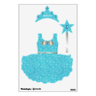 Princesa bonita Wall Stickers del Aquamarine