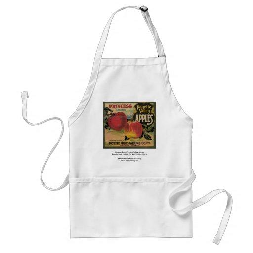Princesa Brand Payette Valley Apples Delantal