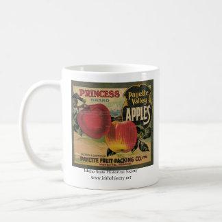 Princesa Brand Payette Valley Apples Taza Básica Blanca