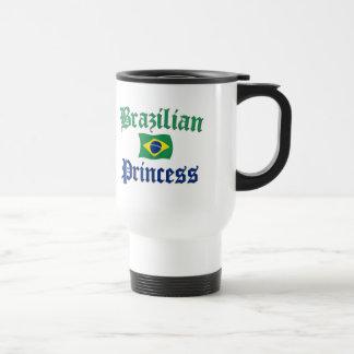 Princesa brasileña 2 taza de viaje