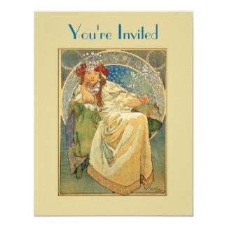Princesa Bridal Shower Invitation de Nouveau del Invitación Personalizada