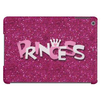 Princesa brillante linda Glitter de las rosas fuer Funda Para iPad Air