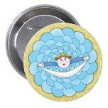 Princesa Button Pins