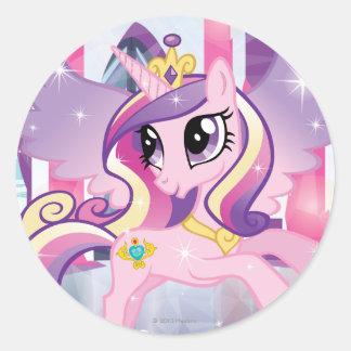 Princesa Cadence Etiquetas Redondas