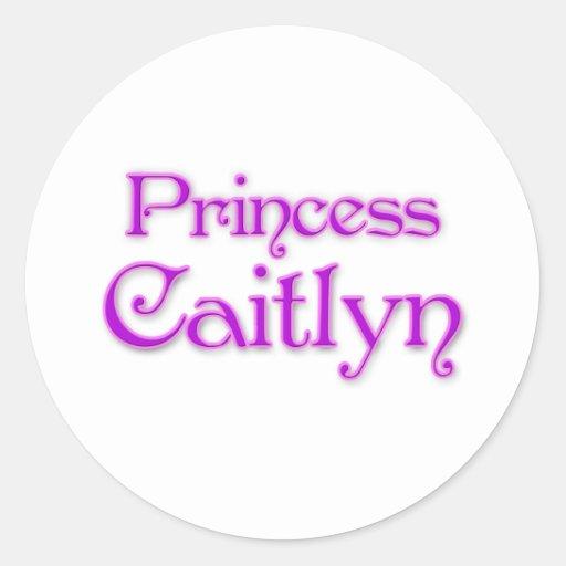 Princesa Caitlyn Pegatina