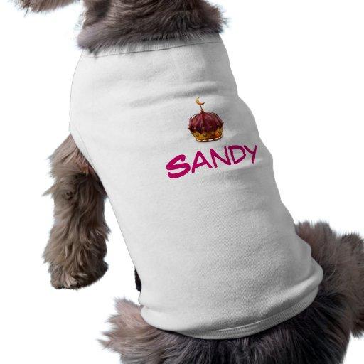 Princesa - camiseta del perro camiseta de mascota