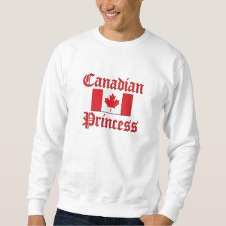 Princesa canadiense pulóver sudadera