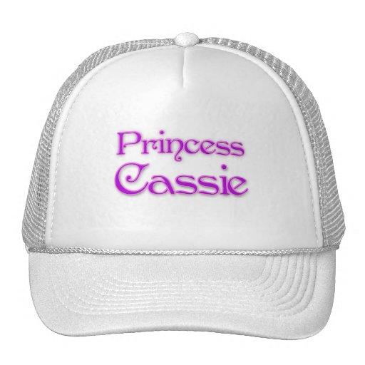 Princesa Cassie Gorras