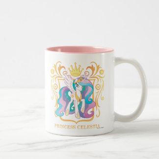 Princesa Celestia con la corona Taza