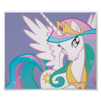 Princesa Celestia Póster