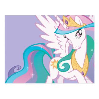Princesa Celestia Tarjeta Postal