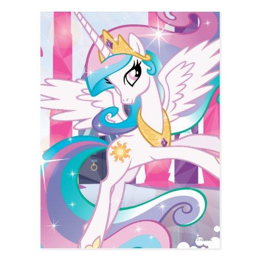 Princesa Celestia Tarjetas Postales