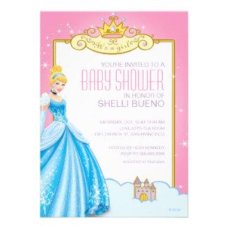 Princesa Cenicienta It de Disney es una fiesta de Invitacion Personalizada